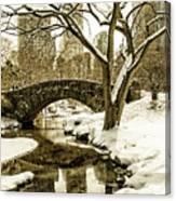 Gapstow Bridge Canvas Print