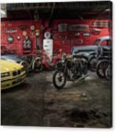 Garage Canvas Print