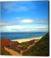 Garapata State Park South Of Monterey Ca Seven Canvas Print