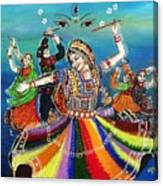 Garba Canvas Print