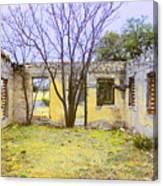 Garden Apartment Canvas Print