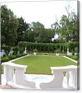 Garden At Crane Cottage Canvas Print