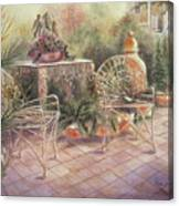 Garden At Linwood  Canvas Print