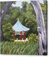Garden By The Bay Canvas Print