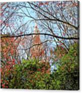 Garden By The Tokyo Tower Canvas Print
