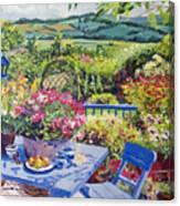 Garden Country Canvas Print