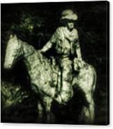 Garden Cowboy Canvas Print