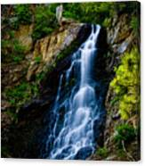 Garden Creek Falls Canvas Print