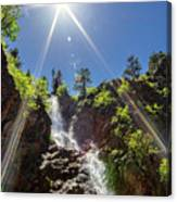 Garden Creek Falls Canvas Print