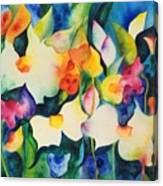Garden Dance Canvas Print