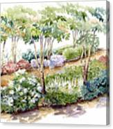 Garden, Dark Side Canvas Print