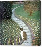 Garden Delights II Canvas Print