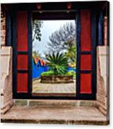 Garden Door Canvas Print