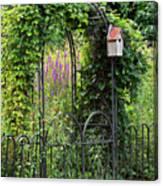Garden Entrance Canvas Print