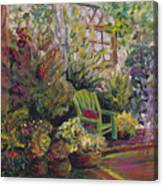 Garden Escape Canvas Print