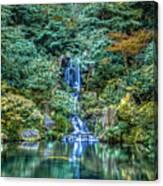 Garden Falls Canvas Print