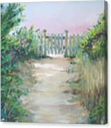 Garden Fence Canvas Print