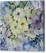 Garden-flowers Canvas Print
