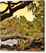 Garden For The Ones Of Flight - Deep Cut Gardens Canvas Print