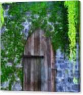 Garden Gate At The Highlands Canvas Print