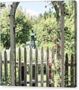 Garden Gate Canvas Print