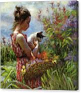Garden Gatherings Canvas Print