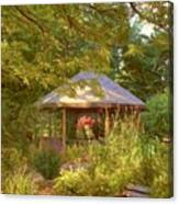 Garden Gazebo Canvas Print