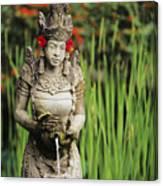 Garden In Bali Canvas Print