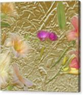 Garden in Gold Leaf2 Canvas Print