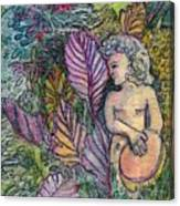 Garden Muse Canvas Print