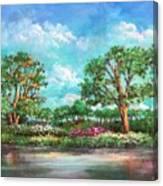 Summer In The Garden Of Eden Canvas Print