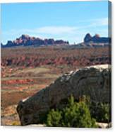 Garden Of Eden Rock Formations, Arches National Park, Moab Utah Canvas Print