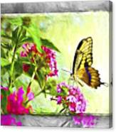 Garden Of Love Canvas Print