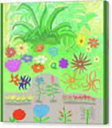 Garden Of Memories Canvas Print