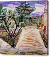 Garden Of The City Canvas Print