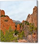 Garden Of The Gods Study 6 Canvas Print