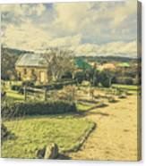 Garden Paths And Courtyards Canvas Print