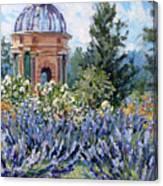 Garden Profusion - Lavender Canvas Print