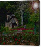 Garden Sleeping Canvas Print