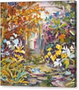 Garden Study Canvas Print