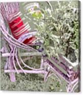 Garden Tea Canvas Print