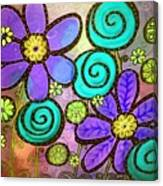 Garden View 2 Canvas Print