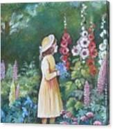 Garden Walk - C Canvas Print