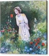 Garden Walk A Canvas Print