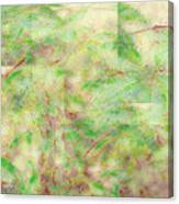 Garden Wall Canvas Print
