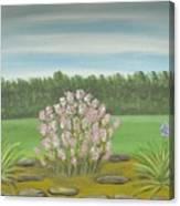 Garden Wedding Canvas Print