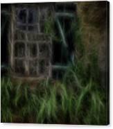 Garden Window 2 Canvas Print
