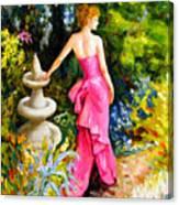 Garden1 Canvas Print