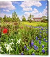 Gardener's Delight Canvas Print