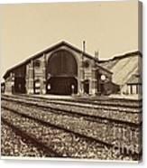 Gare De Longueau Canvas Print
